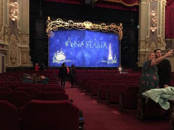Nederlander Theatre (Chicago), section: Orchestra L, row: V, seat: 1