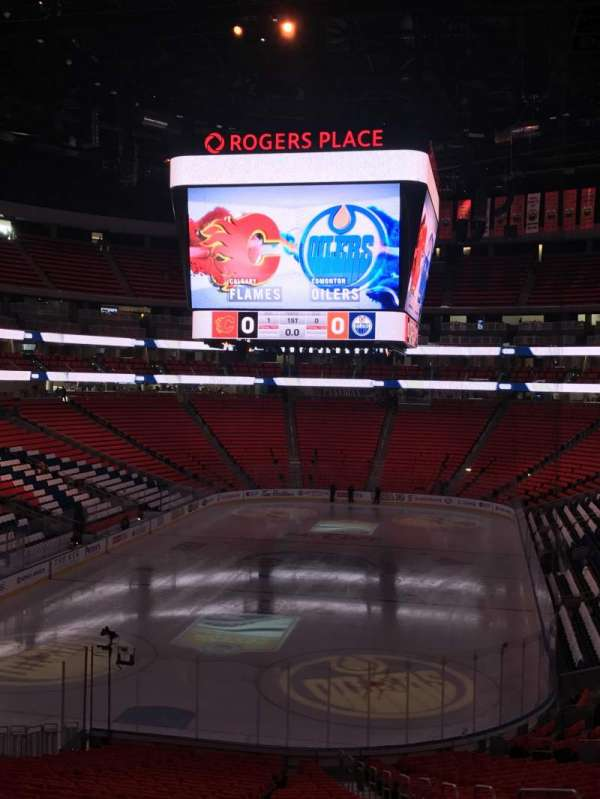 Rogers Place, section: 127, row: 30, seat: 5-6