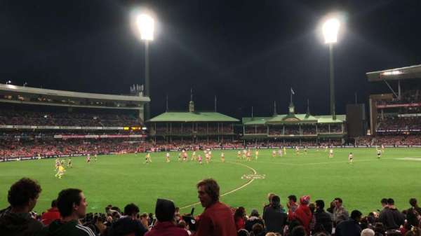 Sydney Cricket Ground, section: 12, row: Y, seat: 9