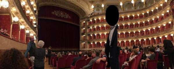 Teatro dell'Opera di Roma, section: Poltrone di Platea, row: 14, seat: 25