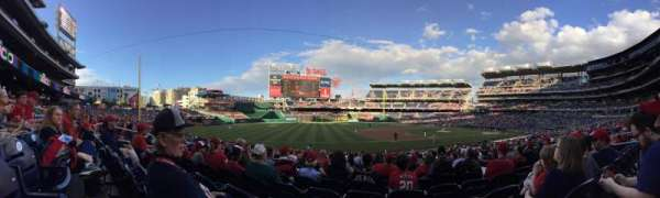 Nationals Park, section: 113, row: EE, seat: 12