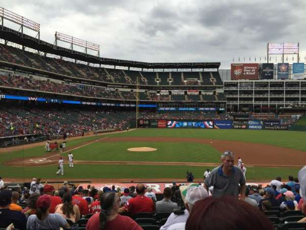 Globe Life Park in Arlington, section: 32, row: 23, seat: 17