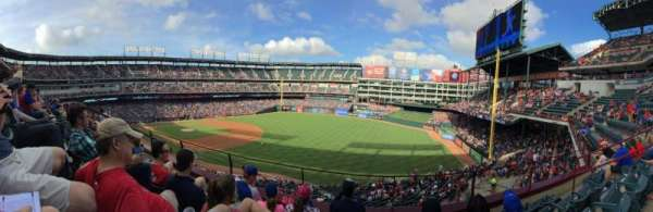 Globe Life Park in Arlington, section: 239, row: 4, seat: 9