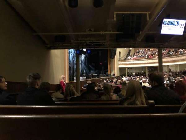 Ryman Auditorium, section: MF-8, row: U, seat: 8