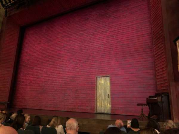 Shubert Theatre, section: ORCHO, row: H, seat: 8