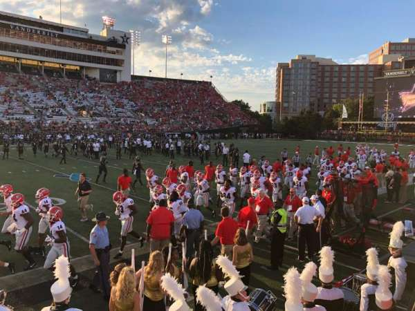 Vanderbilt Stadium, section: P, row: 6
