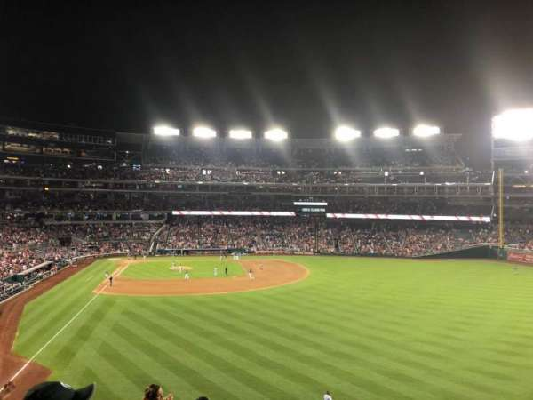 Nationals Park, section: 238, row: J, seat: 19