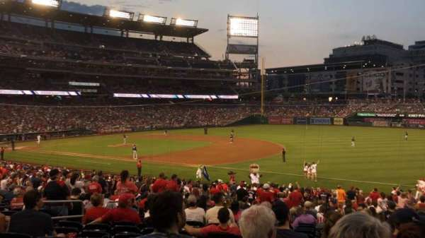 Nationals Park, section: 133, row: PP, seat: 11