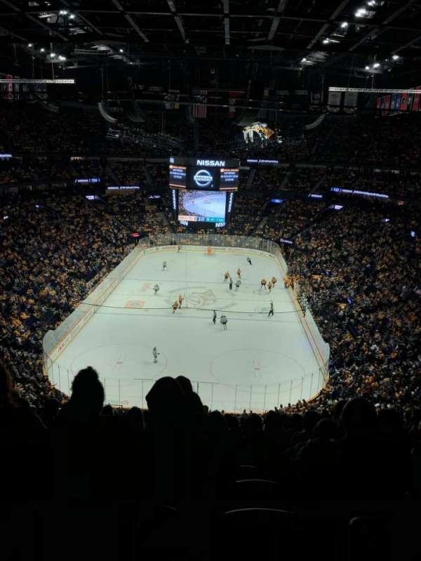 Bridgestone Arena, section: 318, row: SRO