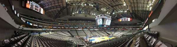 American Airlines Center, section: 109, row: X, seat: 14 or so