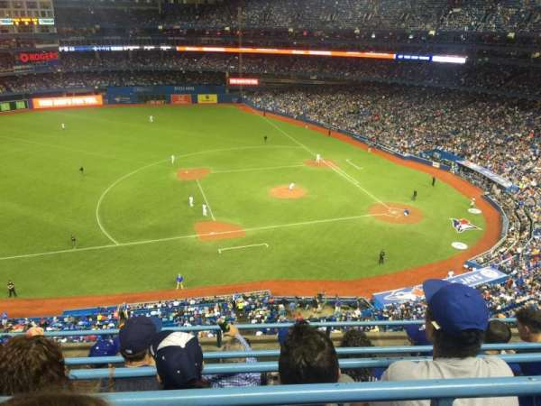Rogers Centre, section: 531R, row: 5, seat: 7