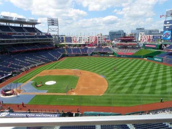 Nationals Park, section: 320, row: A, seat: 17