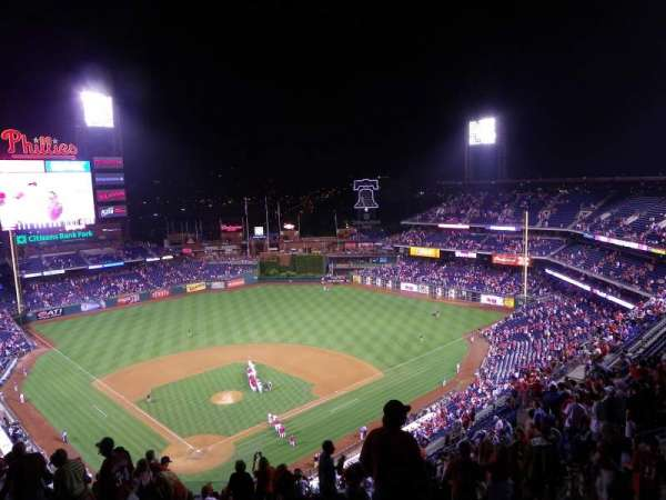 Citizens Bank Park, section: 419, row: 16, seat: 1