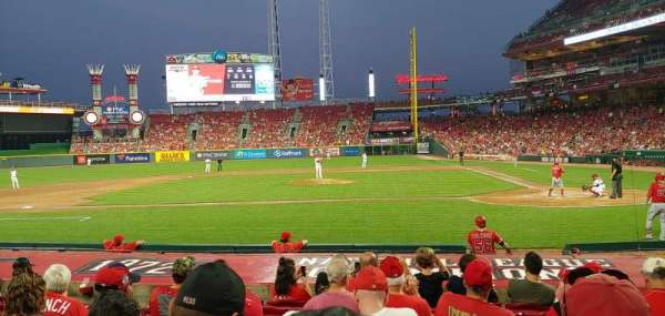 Great American Ball Park, section: 118, row: N, seat: 5