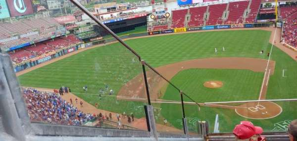 Great American Ball Park, section: 520, row: D, seat: 9