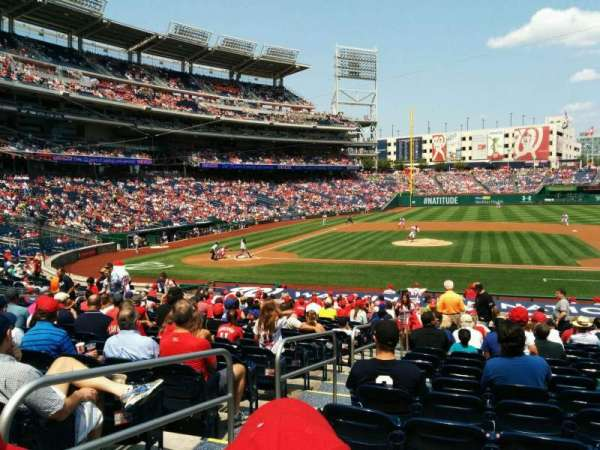 Nationals Park, section: 129, row: cc, seat: 26