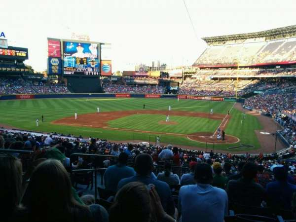 Turner Field, section: 206, row: 11, seat: 5