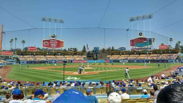 Dodger Stadium, section: 2FD, row: k, seat: 10