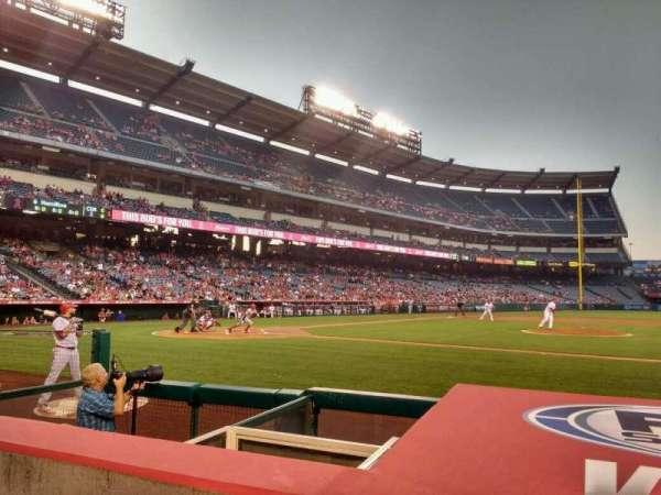 Angel Stadium, section: 124, row: d, seat: 11