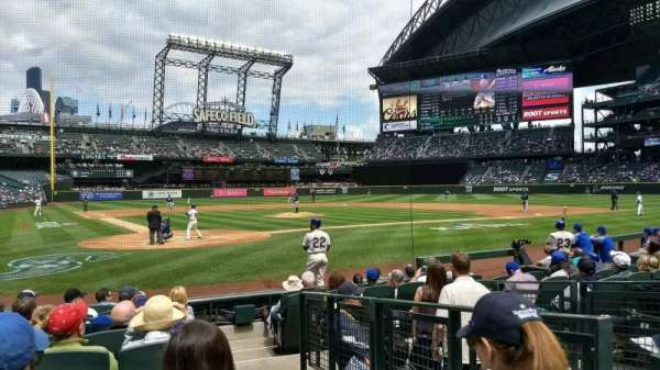 T-Mobile Park, section: 127, row: 10, seat: 1