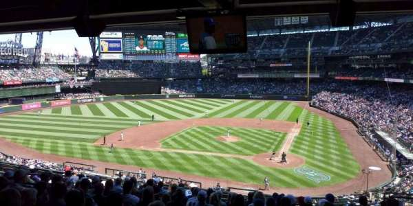 Safeco Field, section: 233, row: 13, seat: 5