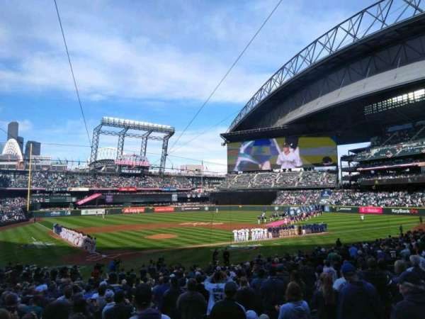 T-Mobile Park, section: 127, row: 27, seat: 2