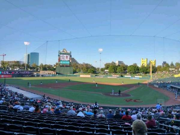 Sutter Health Park, section: 114, row: 29, seat: 5