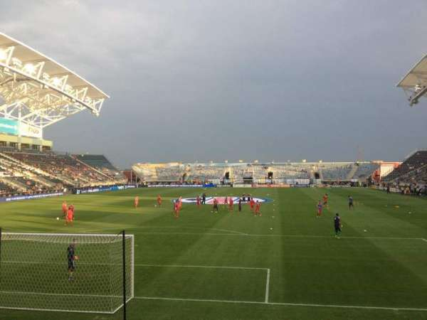 Talen Energy Stadium, section: 116, row: J, seat: 15
