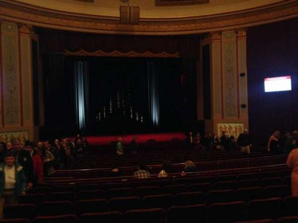 Strand-Capitol Performing Arts Center, section: orchestra center, row: X, seat: 115