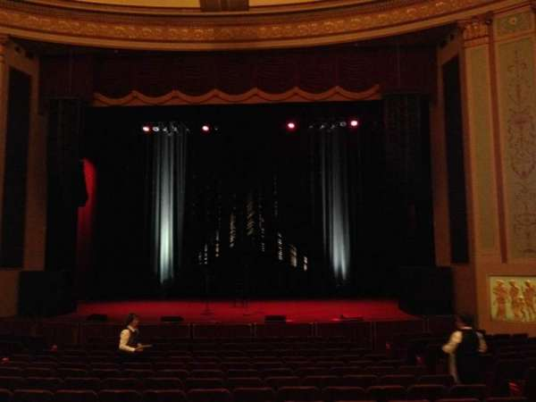 Strand-Capitol Performing Arts Center, section: orchestra right, row: P, seat: 106