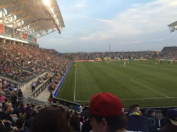 Talen Energy Stadium, section: 120, row: R, seat: 11