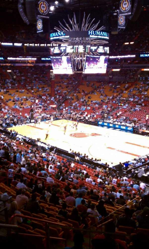 American Airlines Arena, section: 115, row: 33, seat: 14