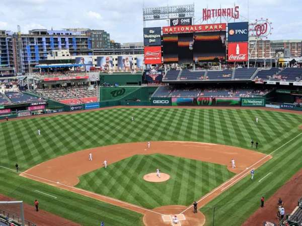 Nationals Park, section: 313, row: C, seat: 17