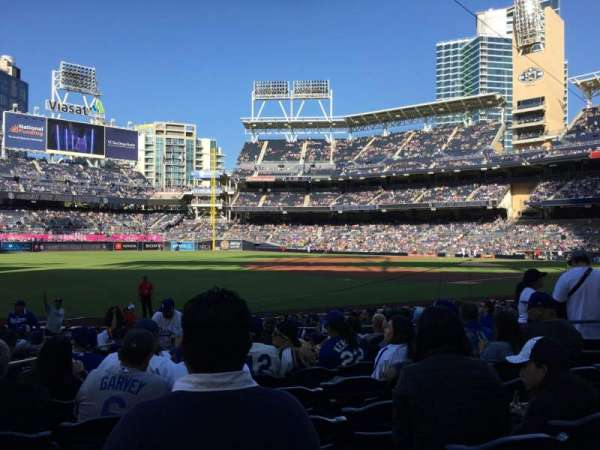 Petco Park, section: 118, row: 18, seat: 8