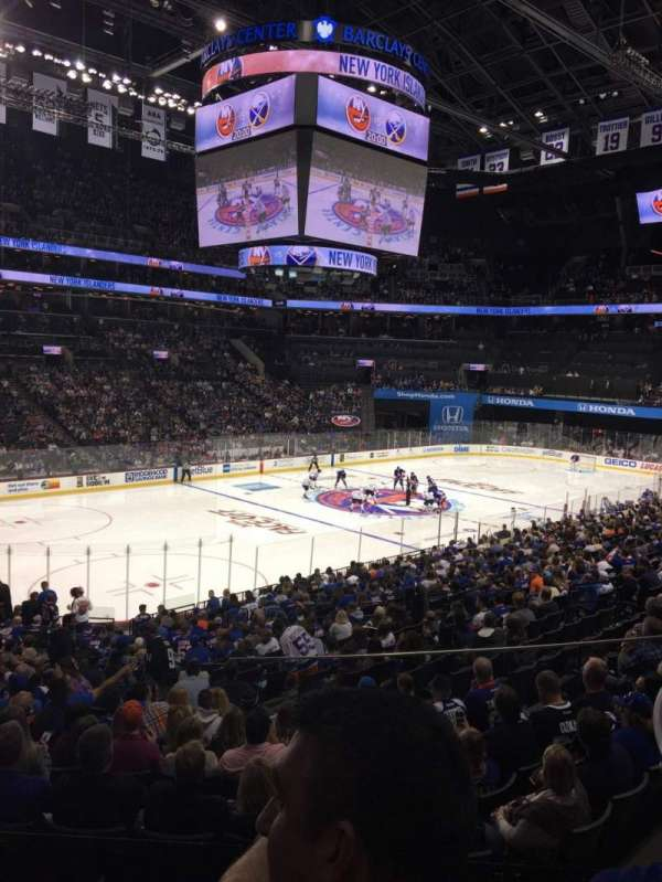 Barclays Center, section: 111, row: 5, seat: 14