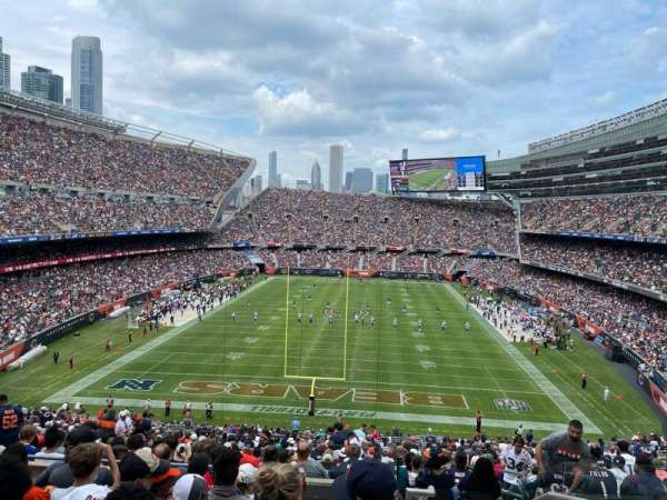 Soldier Field, section: 322, row: 8, seat: 19