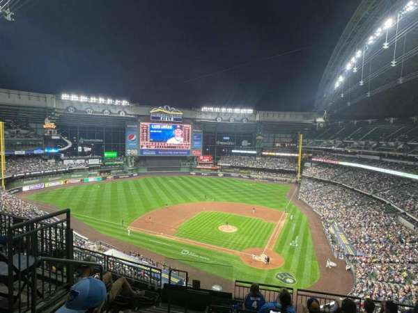 American Family Field, section: 425, row: 10, seat: 13