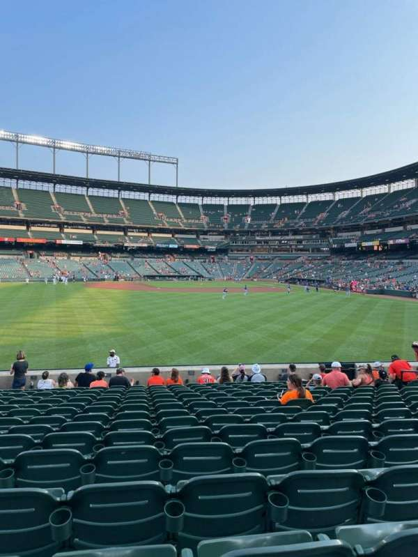 Oriole Park at Camden Yards, section: 84, row: 16, seat: 13