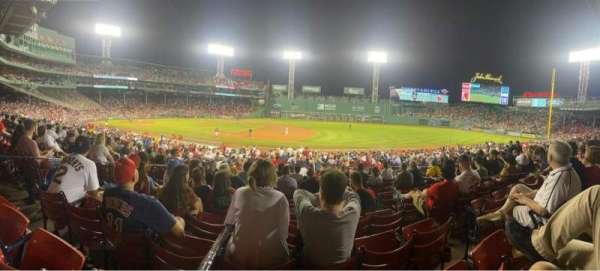 Fenway Park, section: Loge Box 105, row: PP, seat: 4