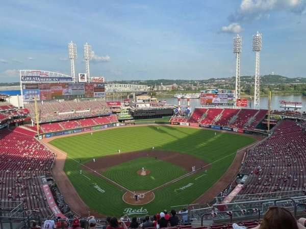 Great American Ball Park, section: 524, row: M, seat: 9