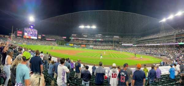Coors Field, section: 137, row: 13, seat: 5