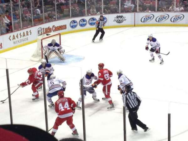 Joe Louis Arena, section: 123, row: 16, seat: 2