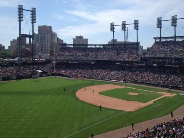 Comerica Park, section: 340, row: A, seat: 20