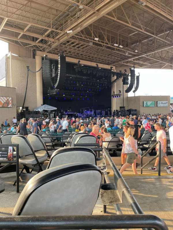 Ruoff Music Center, section: D, row: E, seat: 1-2