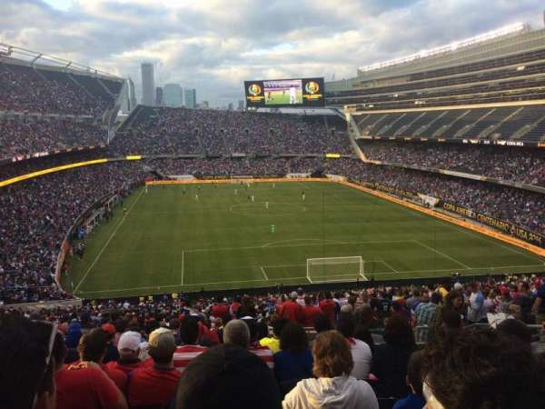 Soldier Field, section: 324, row: 11, seat: 19