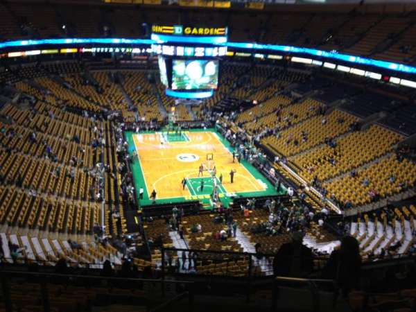 TD Garden, section: Bal 310, row: 11, seat: 1