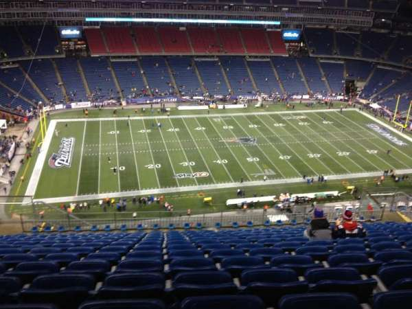 Gillette Stadium, section: 334, row: 20, seat: 17