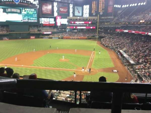 Chase Field, section: Suite 41, row: 1, seat: 6