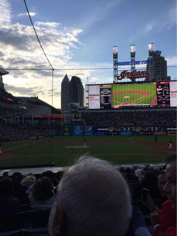 Progressive Field, section: 146, row: R, seat: 9