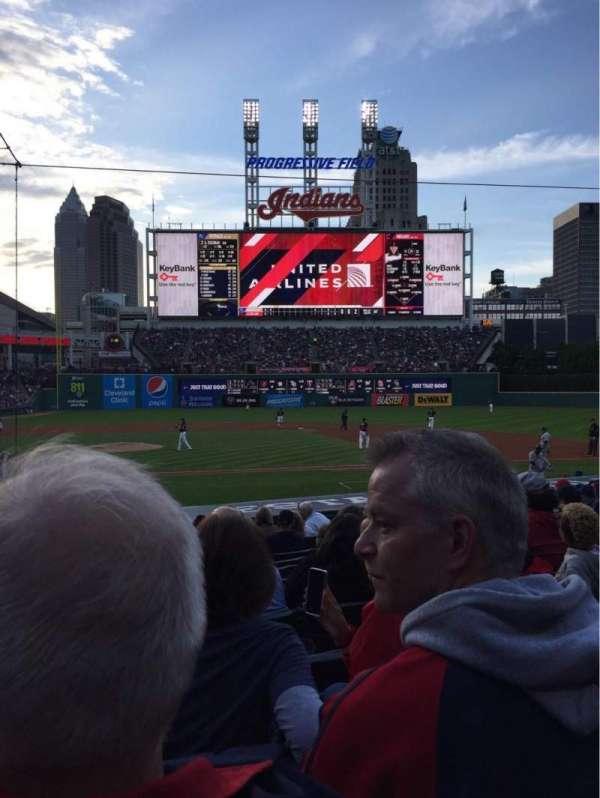 Progressive Field, section: 146, row: R, seat: 9
